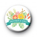Mothers Day Floral Design Badge
