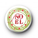 NOEL Decoration Badge