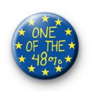 One of the 48% Pro Europe Badges