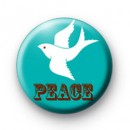 Christmas Peace Dove Badge