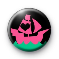 Pirate Ship Button Badges
