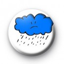 Rain Cloud Badge badges