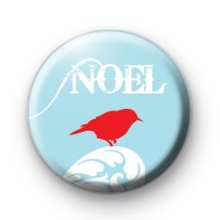 Festive Robin Noel Badge