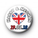 Royal Wedding Prince Harry and Meghan Markle Badges