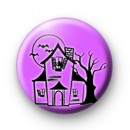 Haunted House 25mm badges