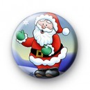 Santa Claus Button Badges