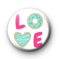 Sweet LOVE Button Badges