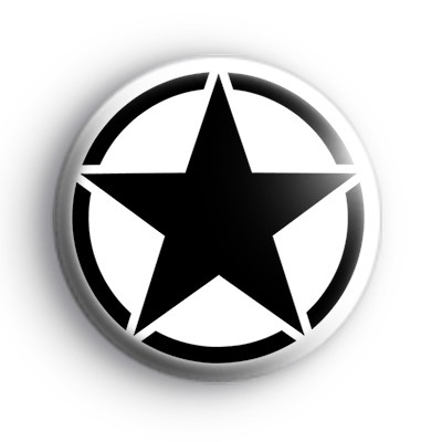USA Military Jeep Star Badge