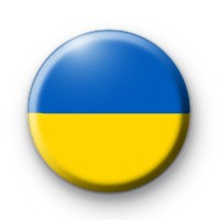 Ukrainian Flag Badge