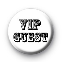 Black and White VIP Guest Badge