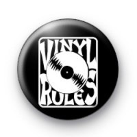 Vinyl Rules badges