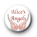 Alices Angels custom name badges