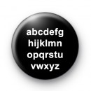 Alphabet letters badges