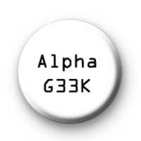 Alpha Geek badges