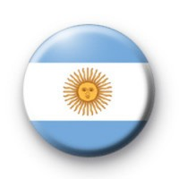 Argentinan Flag Badge