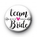 Arrow Team Bride Wedding Badge