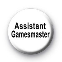 Assistant Gamesmaster Pin Badge