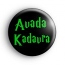 Avada Kadavra Harry Potter Curse Badge