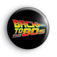 Back To The 80s Retro Badge
