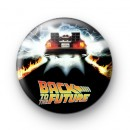 Back to the future custom poster badge