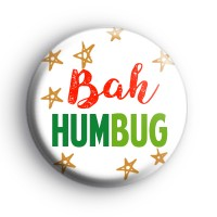Bah Humbug Anti Christmas Badge