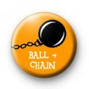 Ball and Chain Hen Party badges