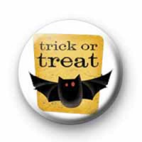 Spooky trick or treat badges