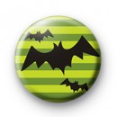 Flying Bats Button Badges