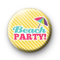 Beach Party Summer Badge