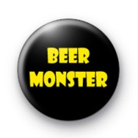 Beer Monster Button Badges