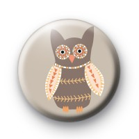 Kitsch Hoot Owl Badge