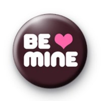 Be Mine Heart Badge