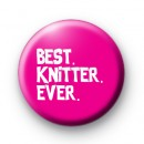 Best Knitter Ever Badge