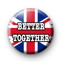 Better Together Button Badge