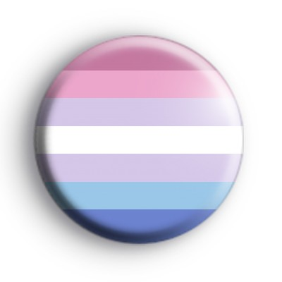 Bigender Pride Flag Badge