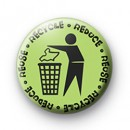 Bin your Rubbish badge