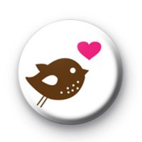 Bird of Love Badge