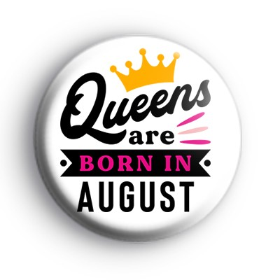 Custom Queen Birthday Month Badge