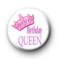 Birthday Queen Badge