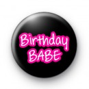 Birthday Babe Badges