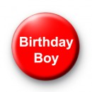 Birthday Boy Custom badge