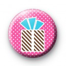 Cute Birthday Gift Box Badge