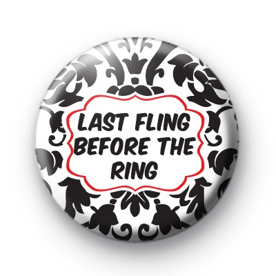 Black and Red Last Fling before the ring badge
