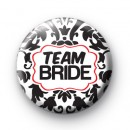 Black and Red Team Bride Badges