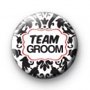 Black and Red Team Groom Badges
