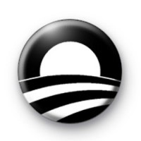 Barack Obama Logo pin badges