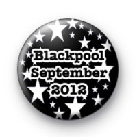 Custom Black and White Hen Party Badge