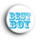 Best Boy Button Badge