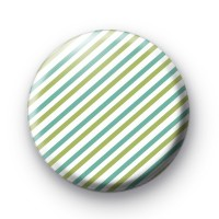 Blue and Green Stripes Pin Badges