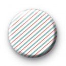 Pink and Blue Stripe Badges